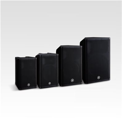 Yamaha DXR mkII Series Powered Loudspeakers